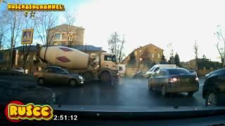 "Жесткие аварии грузовиков за 2016 год"""