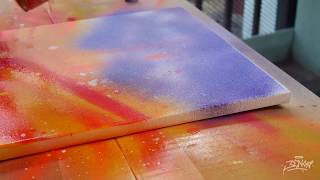 SPRAY PAINT | COLLABORATIVE ART WORK