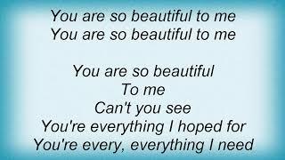 Al Green - You Are So Beautiful Lyrics