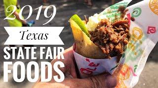 2019 Dallas Texas State Fair Food Tour!