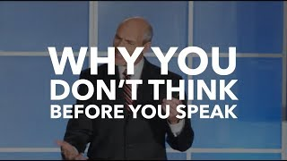 Why You Don't Think Before You Speak