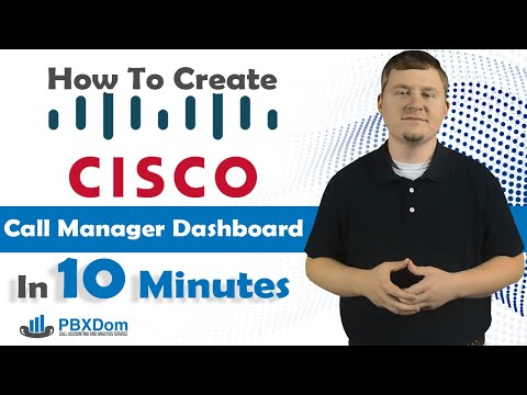 How To Create Cisco Call Manager Dashboard In 10 Minutes ...