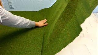Wiese Grasfläche erstellen für die Playmobil Stadt seratus1