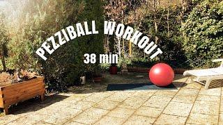 Ganzkörpertraining mit dem Pezzi Ball mit Gabriella (40 Min.)