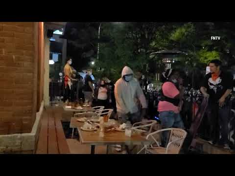 """Protests """"Shut Down"""" the restaurants In Rochester NY"""