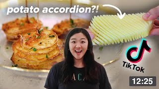 I Tried Viral TikTok Potato Recipes Using An Air Fryer • Tasty