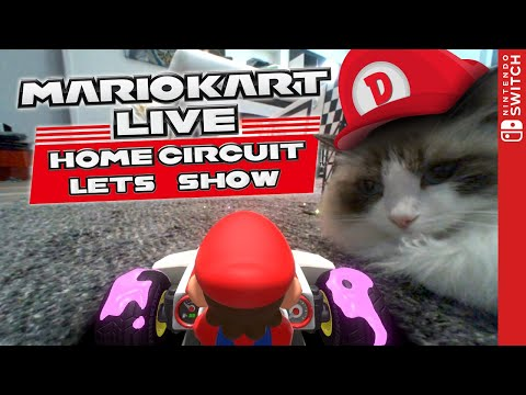 Die etwas andere Roomtour... 🏁 MARIO KART LIVE: HOME CIRCUIT 🏁 Unboxing, Mini-Review & Gameplay