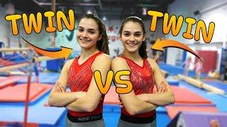 TWIN VS TWIN: Ultimate Gymnastics Challenge Edition