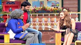 The Kapil Sharma Show  Mashoor Gulati Flirts With Salman Khans Girlfirend Lulia Vantur