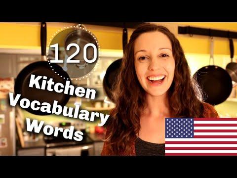 120 Kitchen Vocabulary Expressions: Advanced English Vocabulary Lesson
