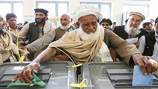 video: Bomb blasts strike polling stations as Afghanistan votes in presidential election