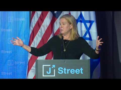 Tzipi Livni Addresses J Street's 2018 National Conference