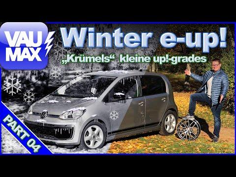 VW e-up! im Wintermodus – Krümels neue Upgrades   Bafa   R-Line   Winterräder