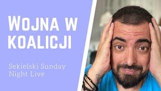 Sekielski Sunday Night Live: wojna na górze, czy zabawa pod publiczkę?