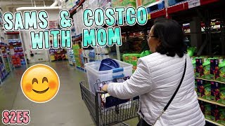 SAMS & COSTCO WITH MOM | VLOG S2.E5