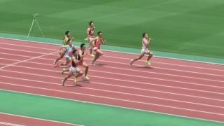 陸上、関東インカレが開幕!男子100m予選トップは勢いのあるこの選手!