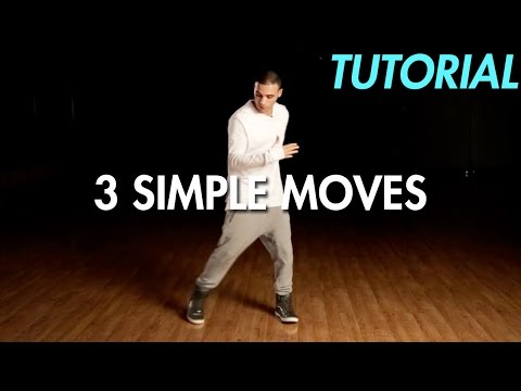 3 Simple Dance Moves for Beginners (Hip Hop Dance Moves ...