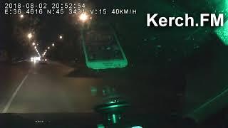 Глупая авария в Керчи