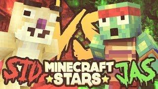 WOJNA LUCKYBLOCK - MineCraft Stars /w Sid
