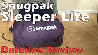 Snugpak Sleeper Lite Sleeping Bag, a Detailed Review | Justin Outdoors UK