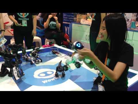Mainan Robot keluaran WowWee© di BRI INDOCOMTECH 2016