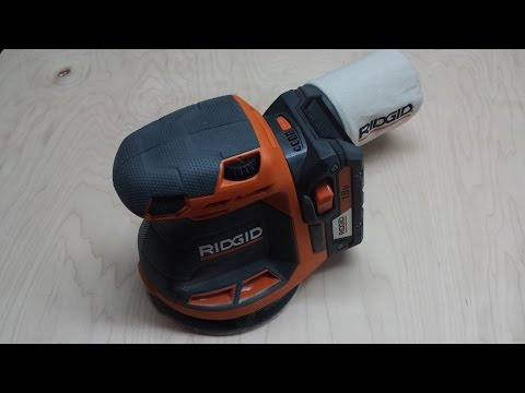 Ridgid Gen5X Cordless 18V Sander Review