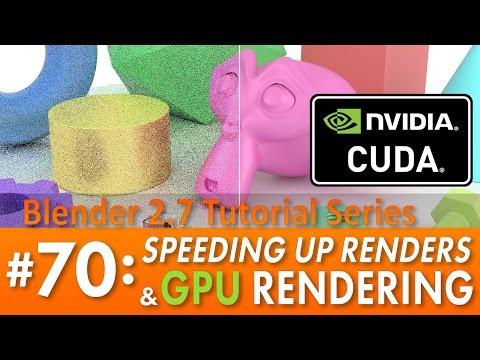 Download Blender 2 7 Tutorial 70 Speeding Up Cycles Gpu Rendering