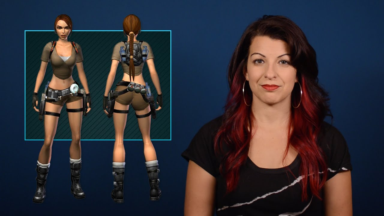 Tropes Vs. Women Talks Video Game Butts