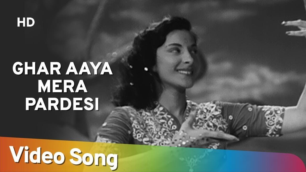Ghar Aaya Mera Pardesi  Lata Mangeshkar Lyrics
