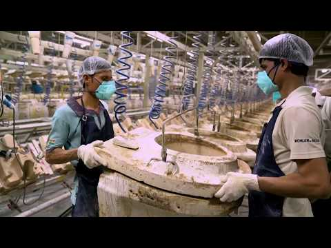 How Are Toilets Made – The Kohler India Vitreous Plant at Jhagadia