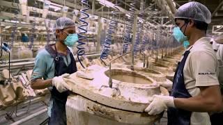 How Are Toilets Made - The Kohler India Vitreous Plant at Jhagadia