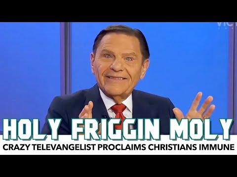 Crazy Televangelist Proclaims Christians Immune