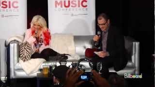 Christina Aguilera Lotus Interview [part 1]