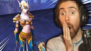 New Asmongold HORDE Transmog Competition - THIS WAS CRAZY!