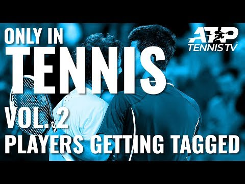 ONLY IN TENNIS Vol. 2: Players Getting Hit by Balls 😳