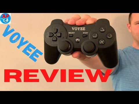 VOYEE PS3 Controller REVIEW and Unboxing - How does it Compare to SONY for $22.99?