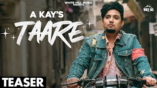 A KAY : Taare (Official Teaser) Rashalika Sabharwal | Releasing on 27 Feb | White Hill Music