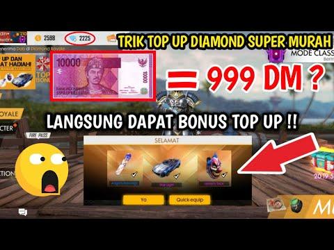 TERBONGKAR! TEMPAT TOP UP SUPER MURAH 10 RIBU DAPAT RATUSAN DIAMOND - Wow! Langsung Auto Kaya !!