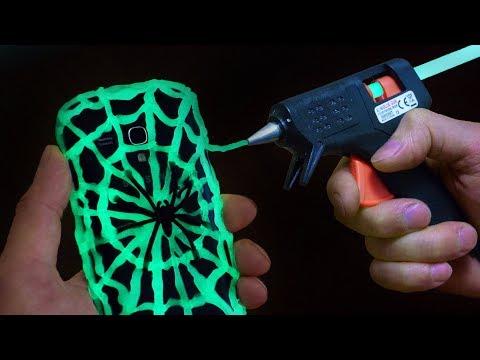 DIY Glow in the Dark Phone Case - Halloween