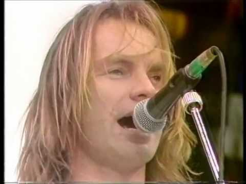 Sting - Message in a Bottle  [Live,1988]
