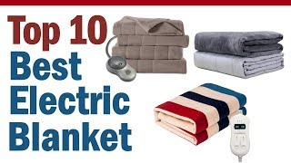 Best Electric Blanket 2019 || Top 10 Best Electric Blanket Reviews