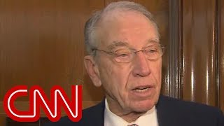 Grassley downplays concerns over Whitaker