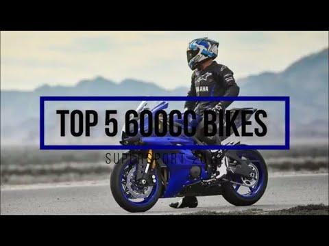 Top 5 600cc Motorcycles 2018 (+Top speed) Supersport