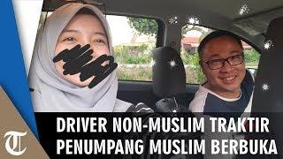 Viral Driver Taksol Non-Muslim Traktir Penumpang Muslim Buka Puasa di Perjalanan: Tak Terukur Uang