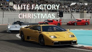 Forza 7 - Christmas action with Elite Factory Racers