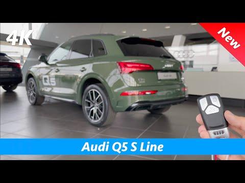 Audi Q5 S Line 2021 - FULL review in 4K | Exterior - Interior - Digital Cockpit Plus - MMI (MIB3)