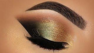 Golden Green Makeup Tutorial! Aurora Lights | Melissa Samways