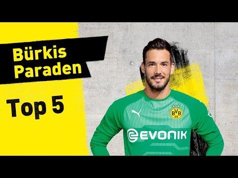 Roman Bürki   Top 5 Saves 2018/19