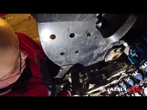 KESLA rear platform installed loader: detaching