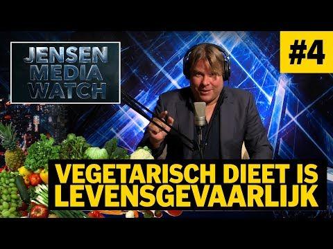 VEGETARISCH DIEET IS LEVENSGEVAARLIJK - DE JENSEN SHOW
